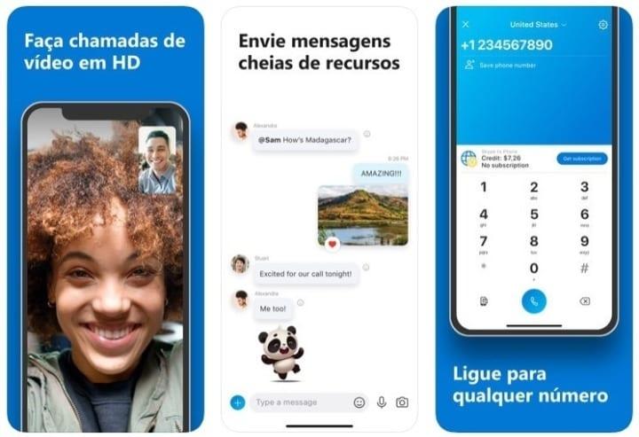 Skype - Aplicativos de produtividade