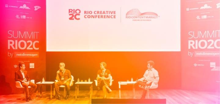 O Rio2C oferece palestras e keynotes de grandes nomes da criatividade