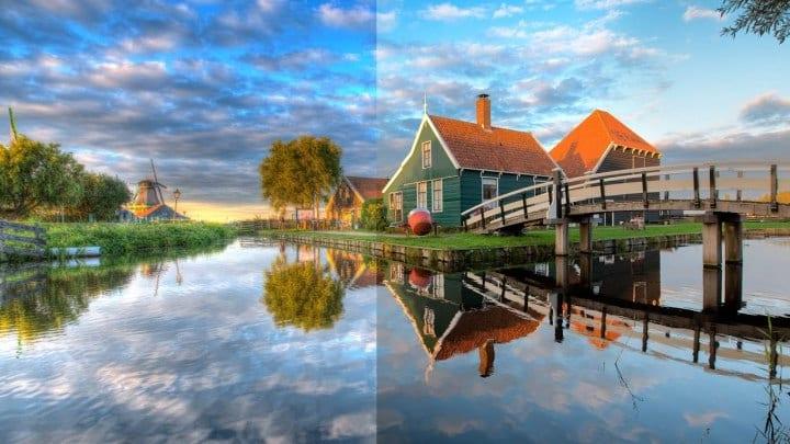 O HDR busca melhorar o brilho e o contraste das imagens