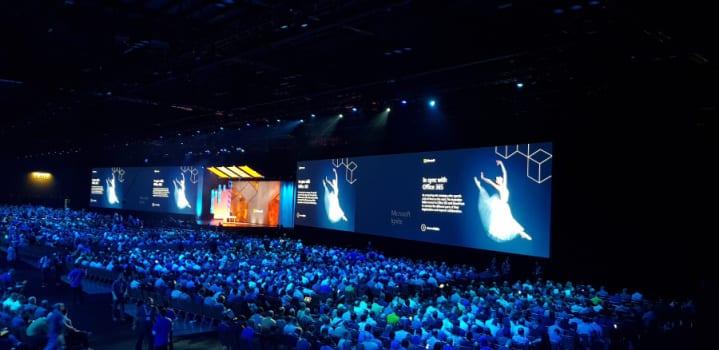 Congresso anual da Microsoft para profissionais da tecnologia