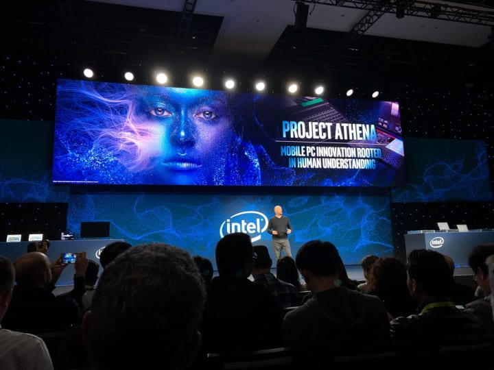 Project athena intel
