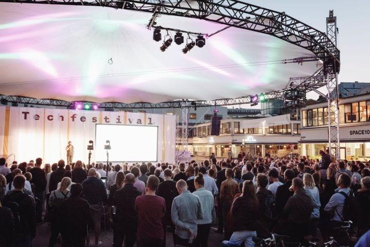 O Tech Festival Copenhagen reúne mais de 200 palestras, instalações, sessões e atividades em Copenhague