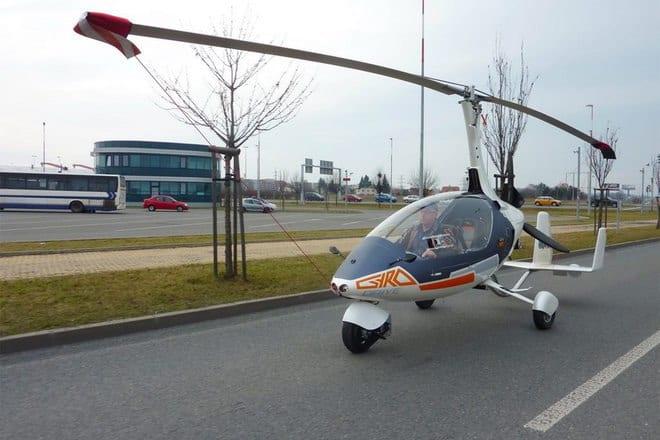 Nirvana autogyro gyrodrive