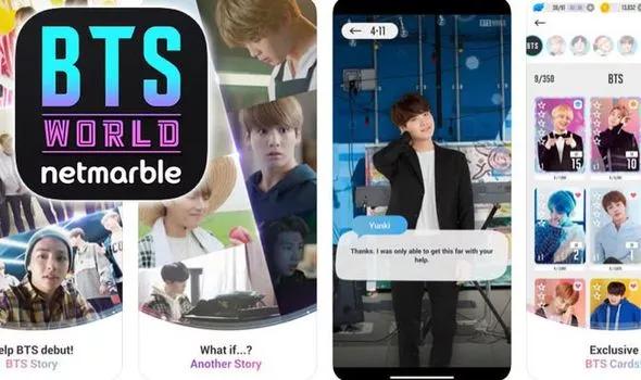 Jogo conta com participação ativa dos membros do BTS