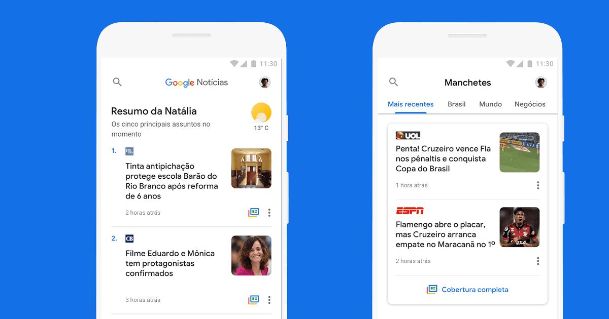 Como ocultar um site no Google Notícias 4