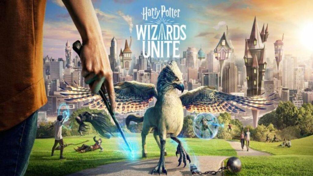 Assim como Pokémon GO, Harry Potter Wizards Unite se utiliza de geolocalização e realidade aumentada para explorar o mapa virtual