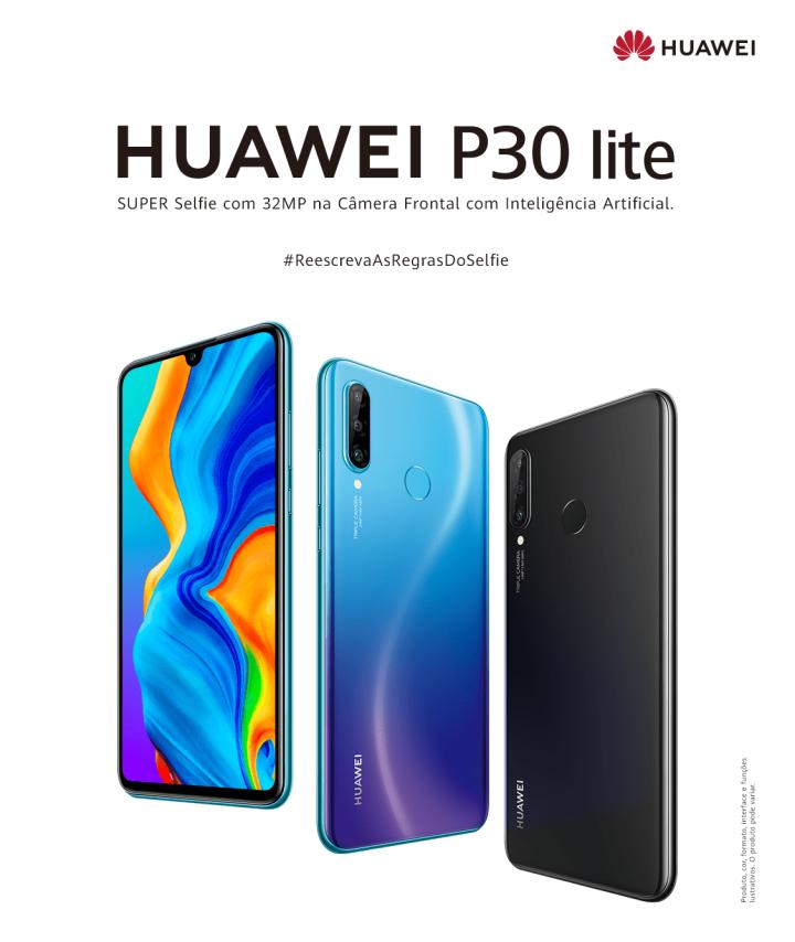 O Huawei P30 Lite se destaca, principalmente, por sua câmera frontal de 32MP