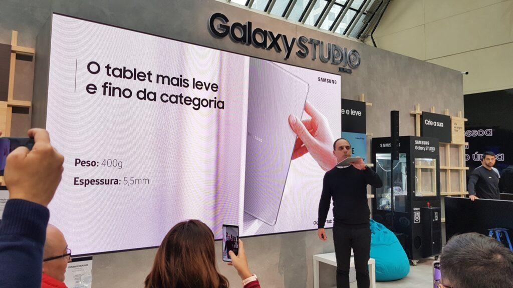 Quem visitar o Galaxy Studio e participar das ações terá diversas chances de ganhar presentes.