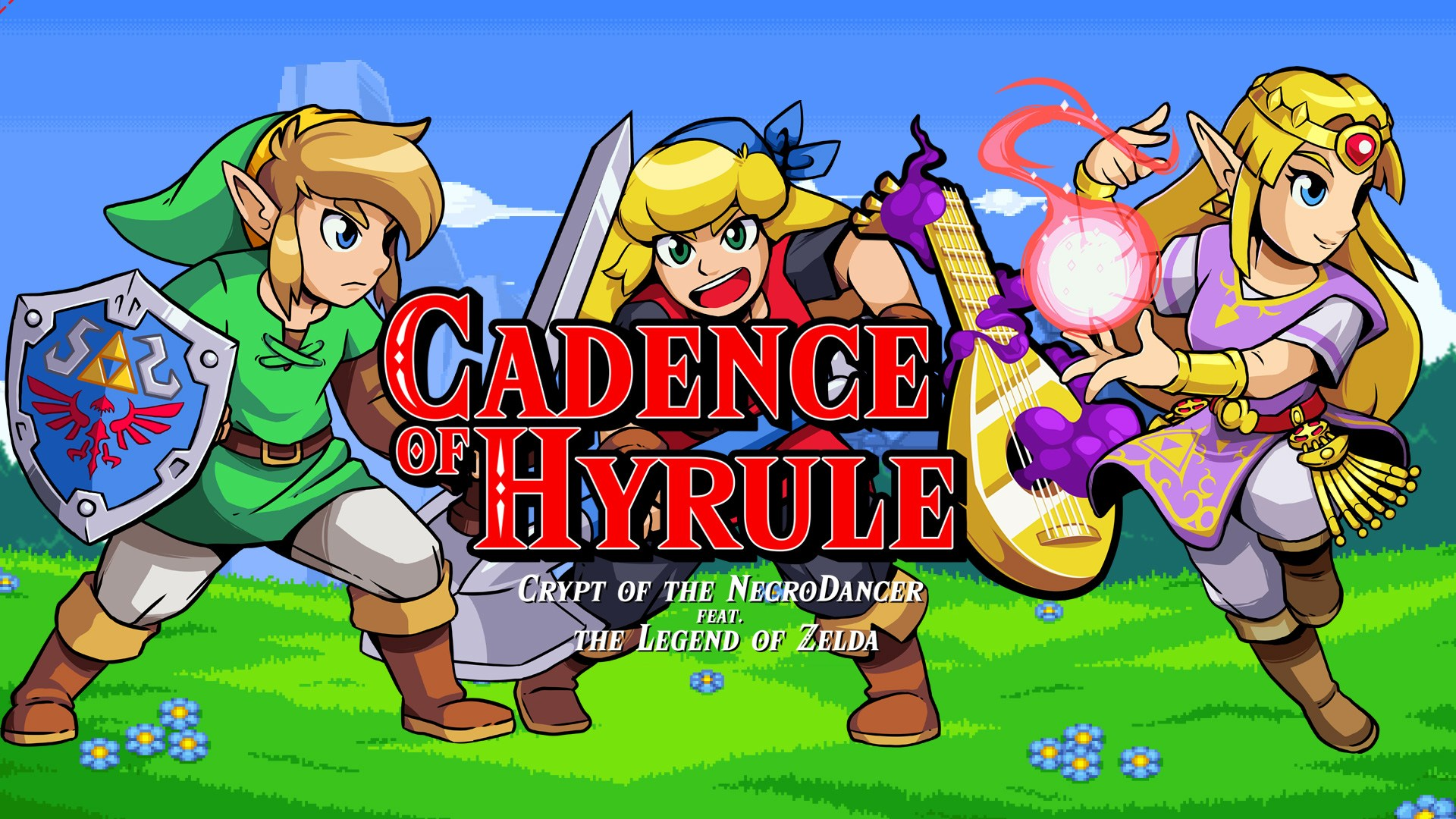 Cadence of hyrule new gameplay footage 1