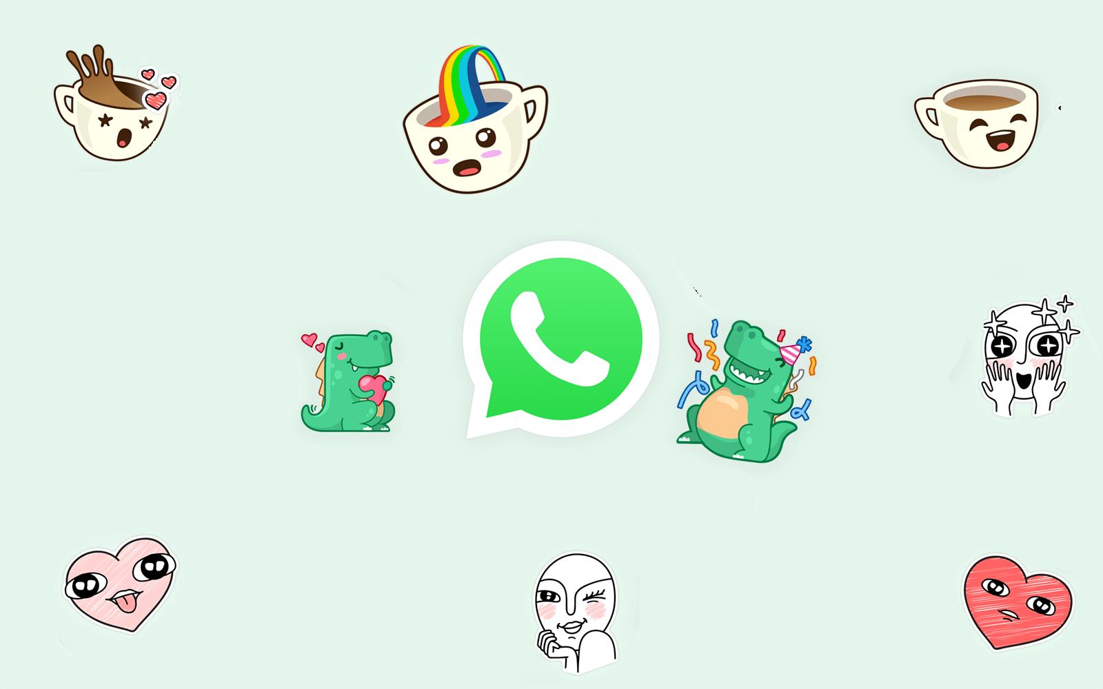 Como mandar figurinhas stickers pelo whatsapp