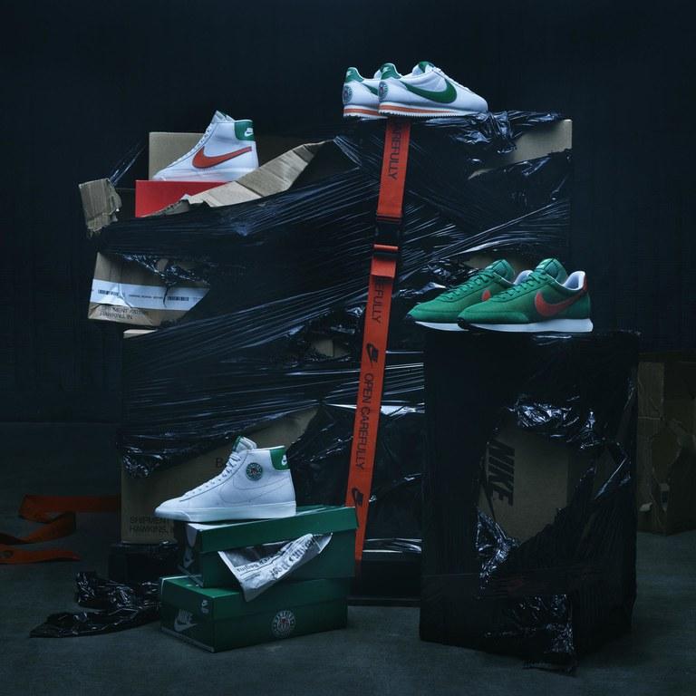 A Nike reedita três modelos icônicos com o logo da série: o Cortez, o Blazer e o Air Tailwind '79.