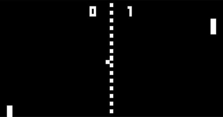 Pong talvez tenha sido o primeiro game de esportes já criado