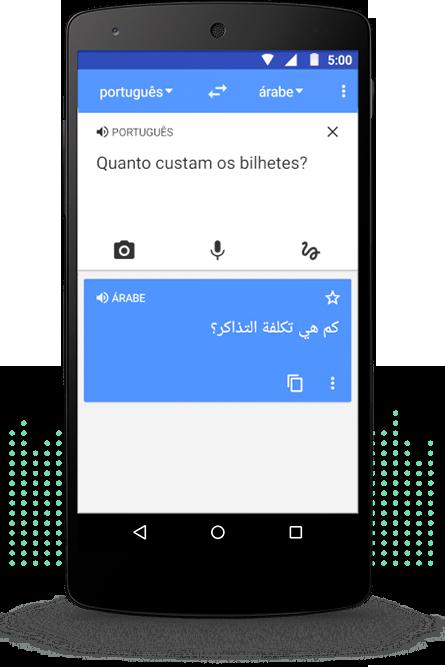 Google Translate não é só tradução do português para outra língua