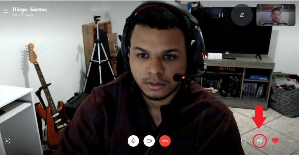 Transmitir PC via Skype