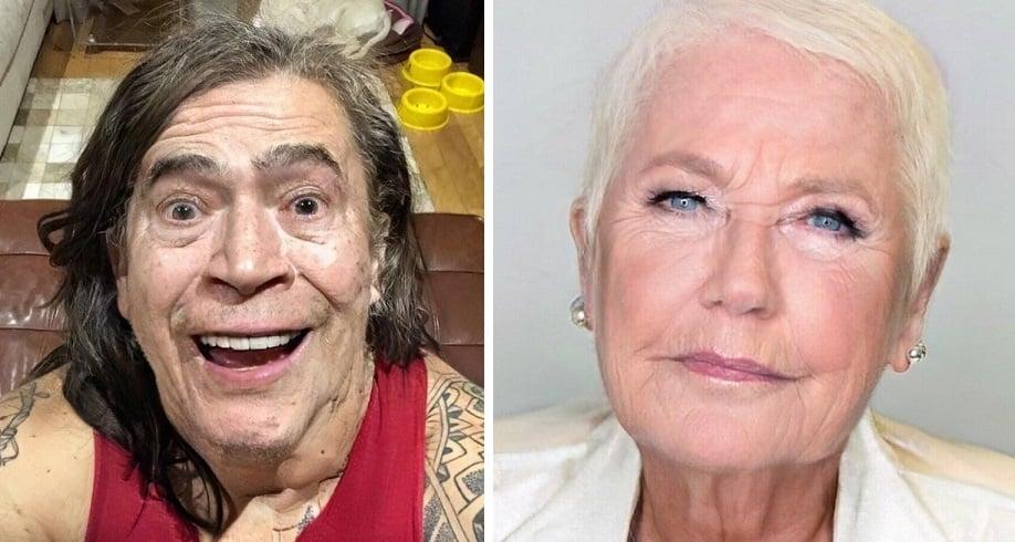 Whindersson Nunes e Xuxa entraram na brincadeira do FaceApp