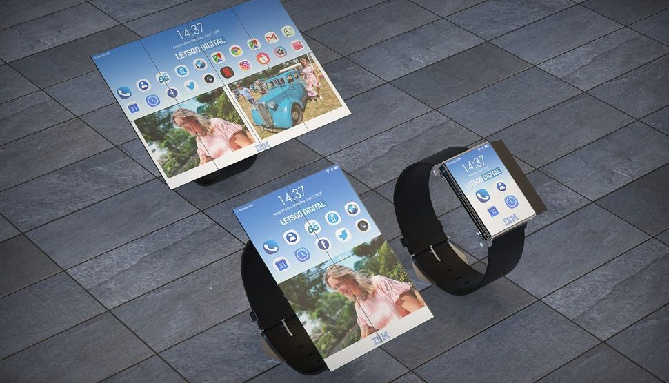 148573 smartwatches news when foldable tech goes mad ibm patents crazy folding smartwatch image1 m5umaoco1l