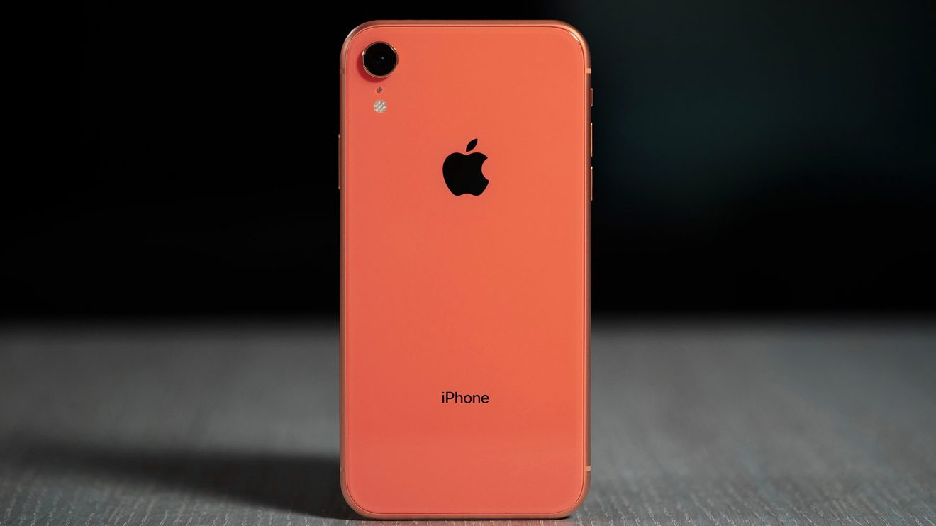 18 iPhone XR coral