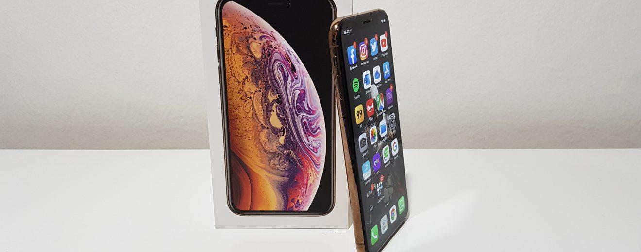Imagem destacada do iPhone XS