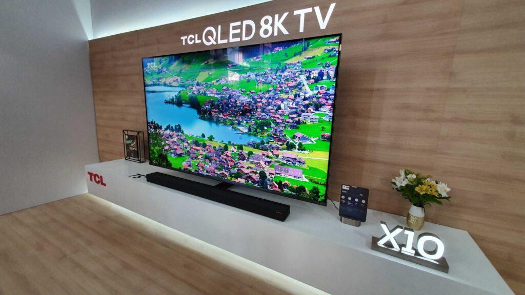 A smart tv tcl x10s ainda conta com dolby atmos