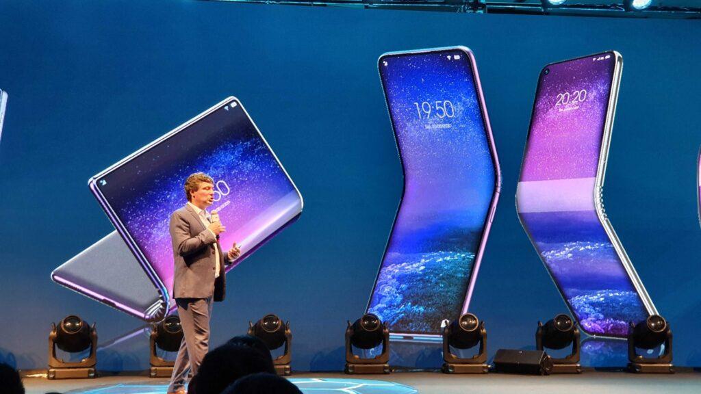 Gadgets dobráveis também foi assunto durante o evento