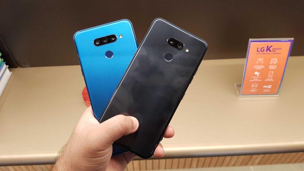 LG K12 Prime e K12 Max