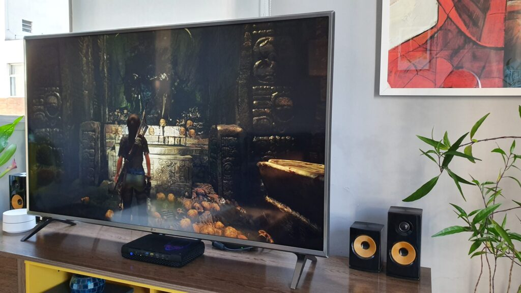 Shadow of the Tomb Raider teve um desempenho muito bom na máquina