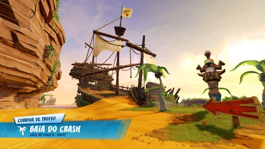 A pista mais famosa do Crash Team Racing original.