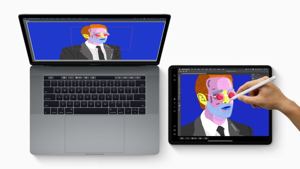 Através de suas funcionalidades, o iPad expande a produtividade do Mac