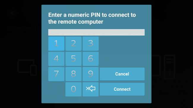 Lembre-se de seu pin pois ele será necessário para autenticar o aplicativo