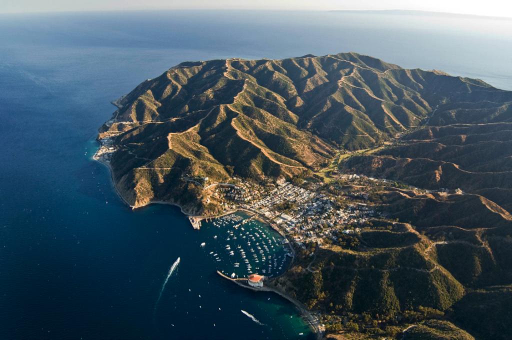 Ilha de Catalina, na Califórnia
