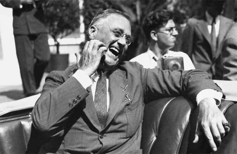 O ex-presidente americano Roosevelt teve mais de 22 mil amigos, diz estudo científico