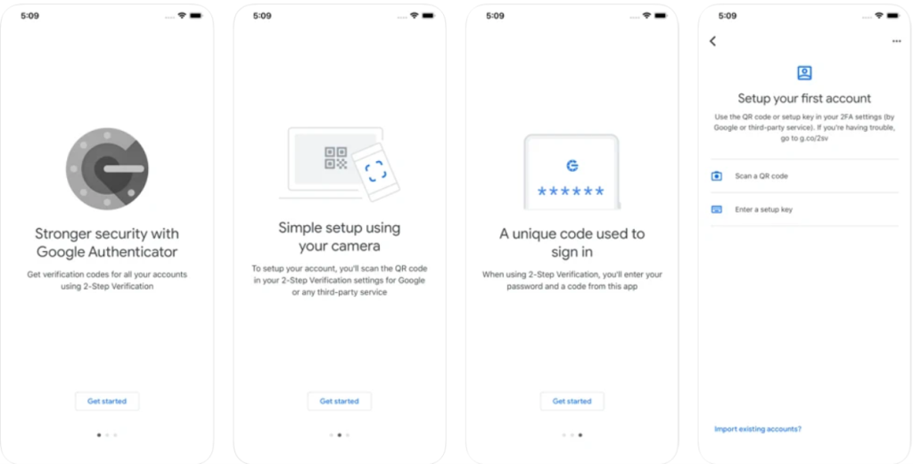 Aplicativos do google para segurança: google authenticator para android e iphone