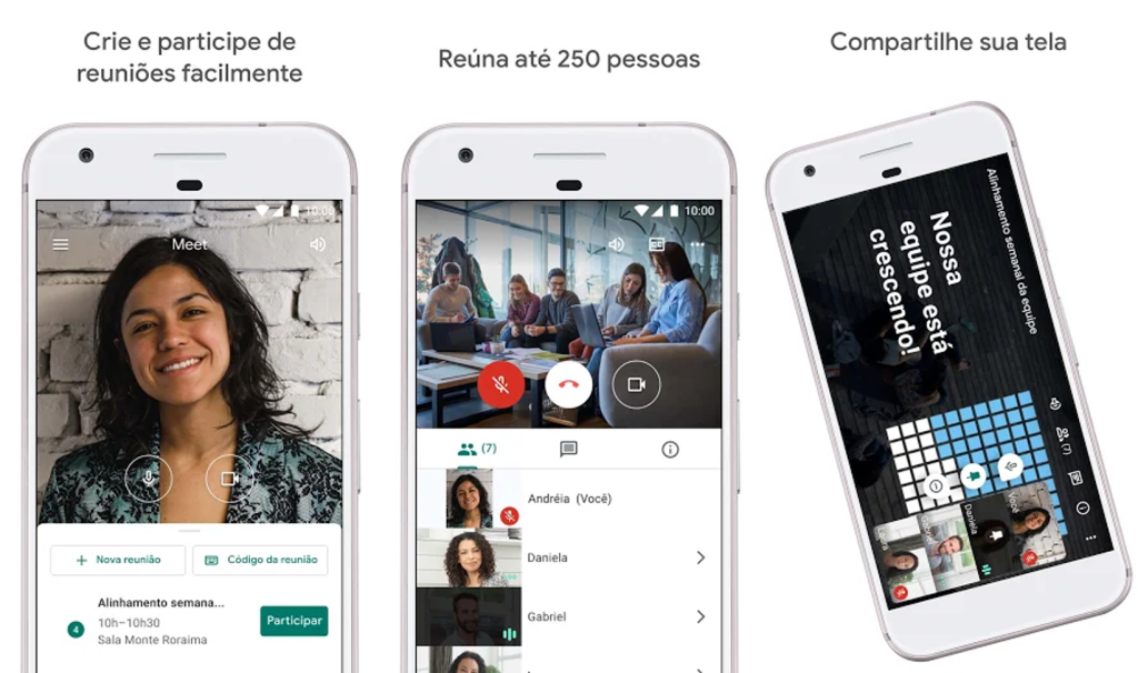Google meet, app para videochamadas para android e iphone