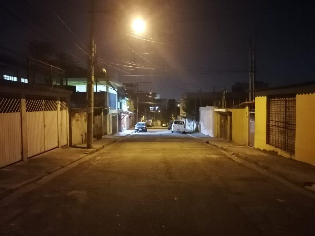 Foto tirada com o Modo Noite do P30 Lite