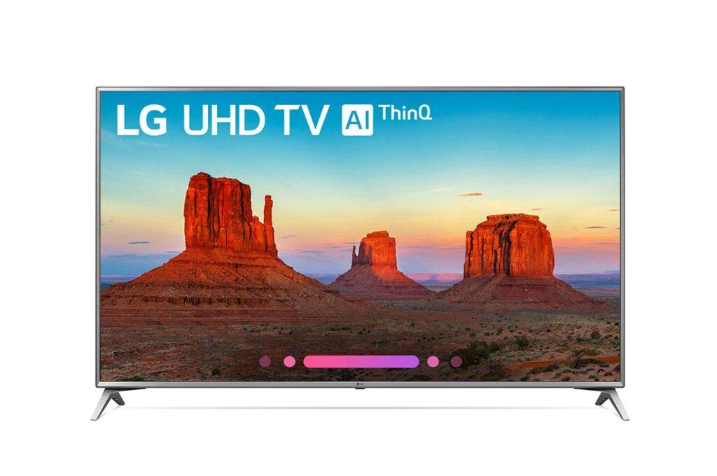 Lg uhd ai tv - melhor smart tv para jogos