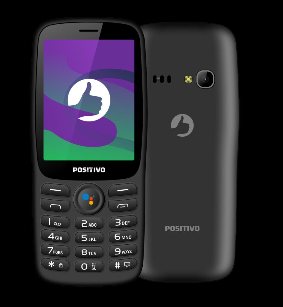 O Positivo P70S, o primeiro smart feature phone do Brasil.