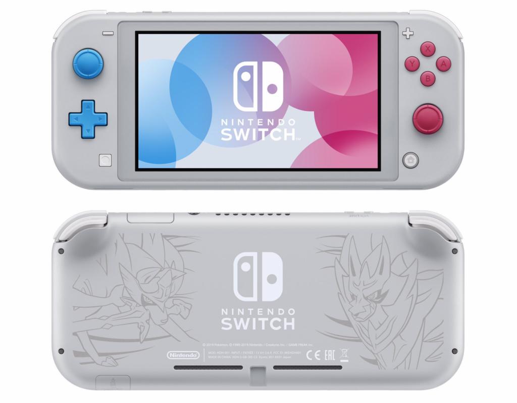 Nintendo switch especial pokémon sword & shield