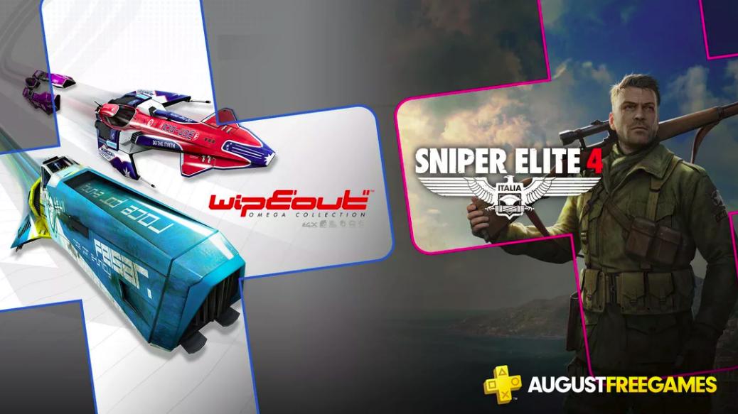 PS Plus de Agosto terá Wipeout e Sniper Elite 4