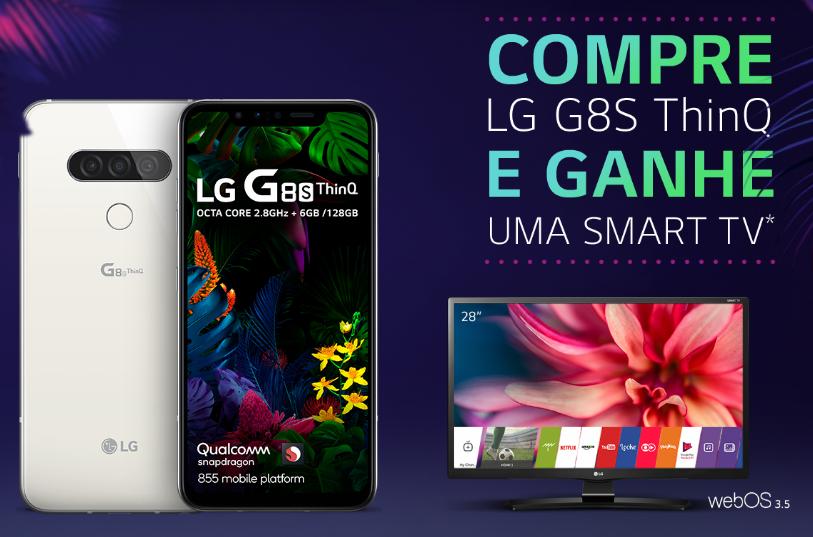 Lg g8s thinq chega ao brasil com tecnologia air motion por r$ 4. 300. O lg g8s thinq é o novo top de linha da empresa sul-coreana e chega ao brasil para bater de frente com a linha galaxy s10 da samsung