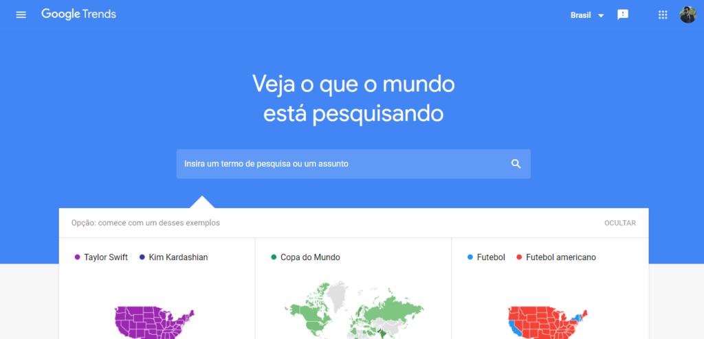 Google Trends, uma excelente ferramenta do Google também pode ajudar à confirmar o Status do WhatsApp.