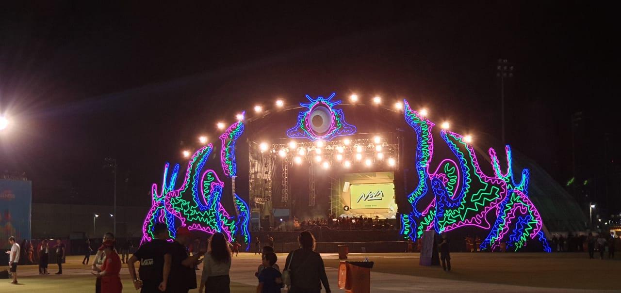 Palco Gênesis leva atrações musicais para a Game XP.