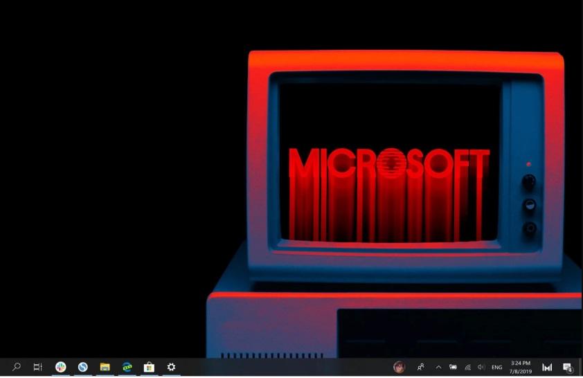 """A microsoft fez um vídeo de """"stranger things"""" em seu novo aplicativo inspirado no windows 1. 0. Aplicativo também inclui  paint e write antigos."""