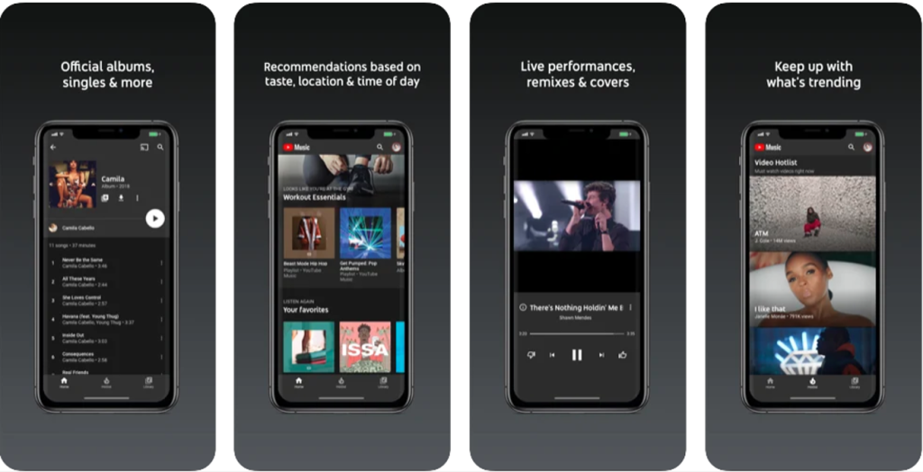 Novo aplicativo do google para músicas, youtube music para android e iphone