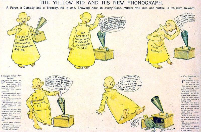 netflix: The Yellow Kid é registrado como a primeira tiragem em quadrinho da história