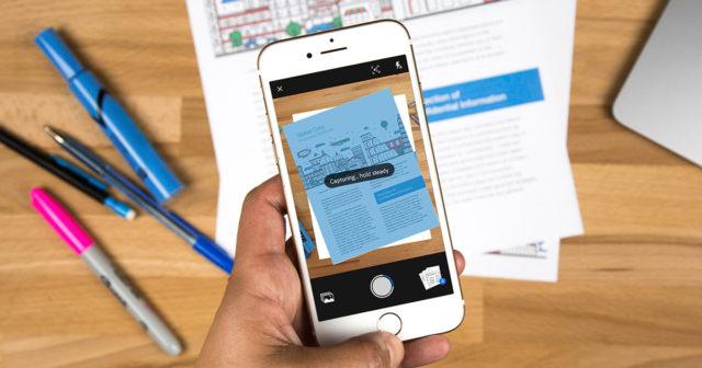 Há diversos Apps de scanner para iOS, mas nem todos funcionam bem