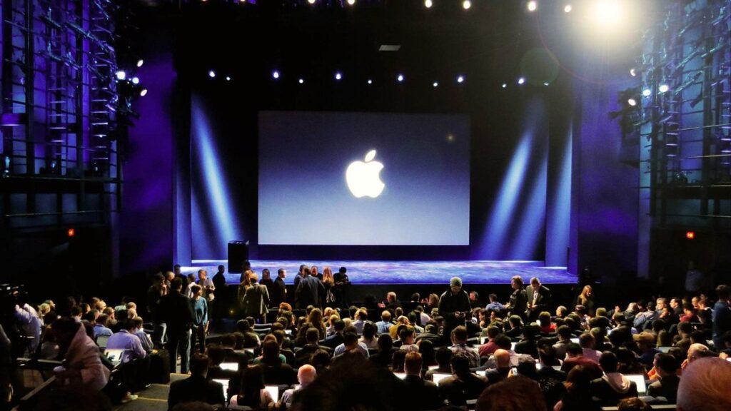 eventos da apple