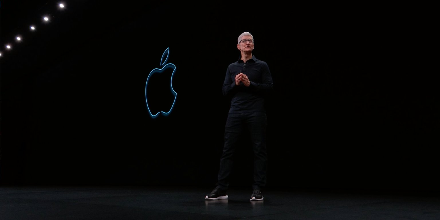 Tim cook apresenta os eventos da apple