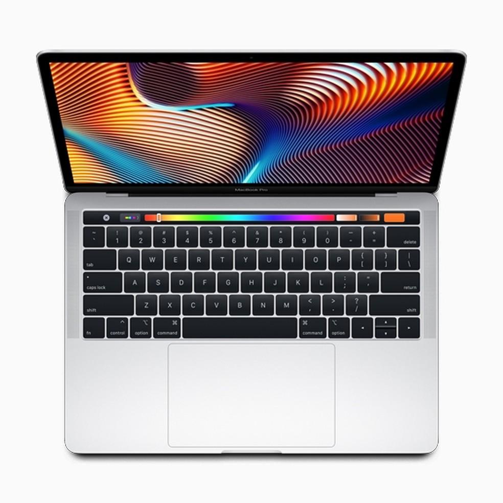 Novo MacBook Pro