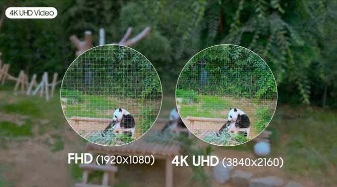 Os vídeos do Galaxy A80 são gravados em 4K