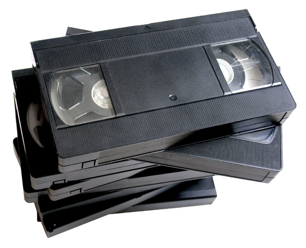Vhs tecnologias antigas